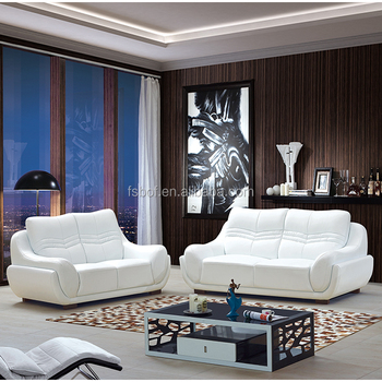 1+2+3 Used Leather Sofa Set, Divan Living Room Furniture Sofa,