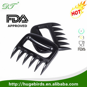 2016 New Arrival Food Grade Paws Pulled Pork Strongest BBQ Meat Fork Meat Claws