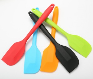 Silicone Spatula Heat-Resistant Spatulas,Non-stick Rubber Spatulas with Stainless Steel Core