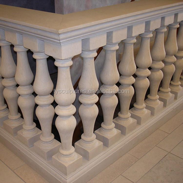 2017 popular dise o moderno m rmol blanco natural piedra - Balaustres de piedra ...
