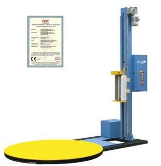 semi automatic pallet wrapping machine