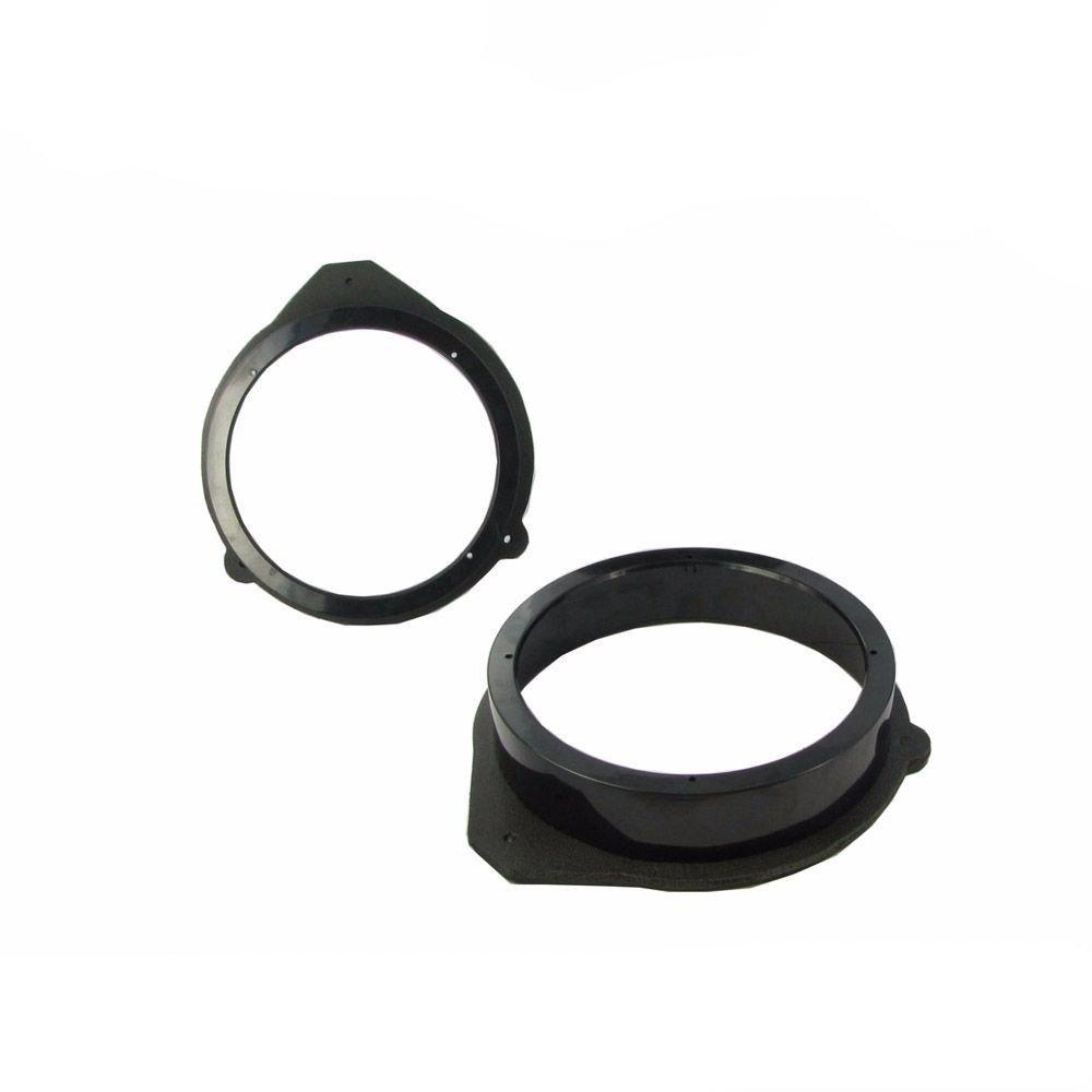 """5.25/"""" 13cm Front Door Speaker Spacer Install Adaptor Adapter Mount Rings Pair"""