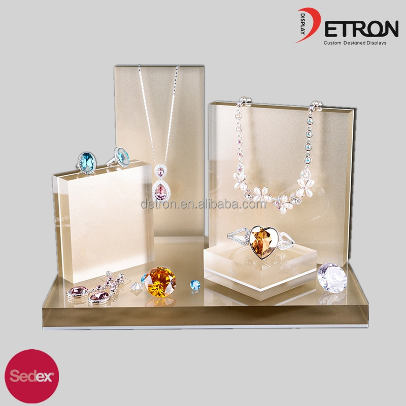 Crystal Acrylic Jewellery Display, Jewelry Display Set