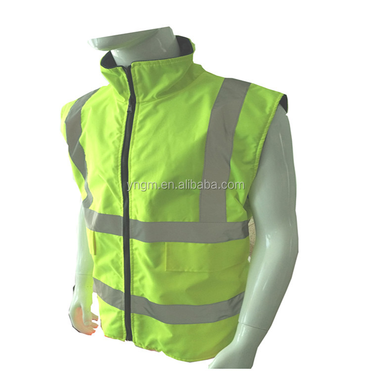 High Visibility Class 2 Reflective Safety Vest with EN20471 from Factory