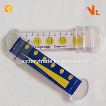V-T055 Promotional Gifts Plastic Medical Scale Pain Assessment Ruler