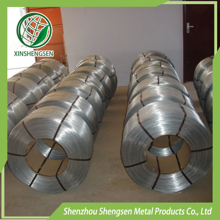 Factory price electro and hot dipped galanized iron wire from China