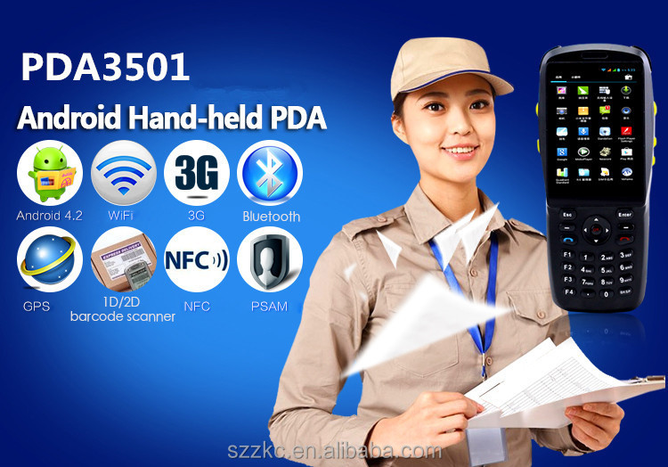 Android handheld meter reading devices with IR meter reader