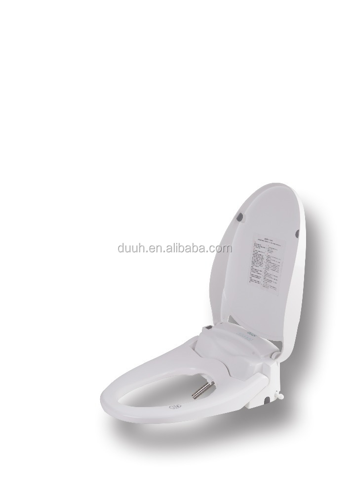 PPS Electric Bidet Seat for Toilet , Electronic Heated Toilet Cover with Warm Air Dryer