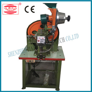 Lever Arch File Making Machine Finger Ring Eyeleting Machine for Folder File