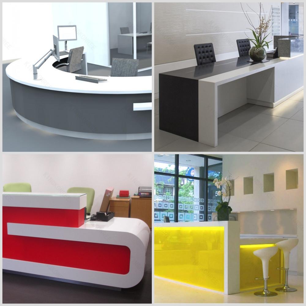 Oficina Moderna Diseño Mostrador De Recepción Para Hotel - Buy ...
