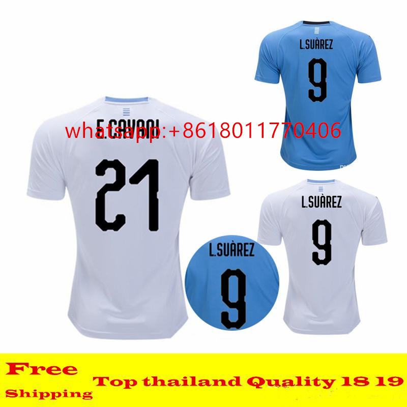 a53a176cd China Uruguay Soccer Jersey, China Uruguay Soccer Jersey Manufacturers and  Suppliers on Alibaba.com