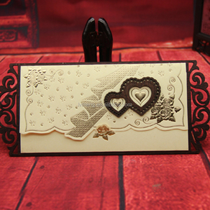 Latest Hot Sale Unique Wooden Engagement Invitation Card For Wedding Gifts Crafts