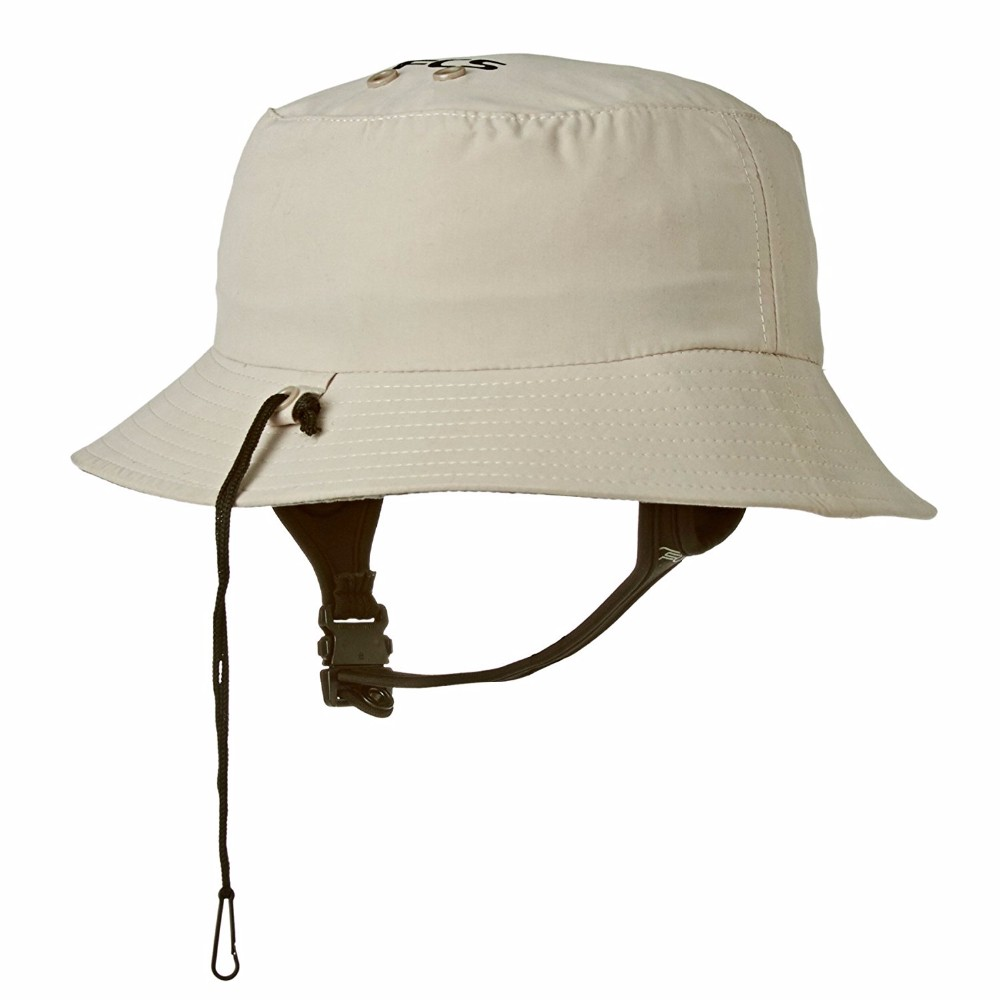 44d510f8bb81fb Wide Brim Uv Protection Plain Bucket Surf Hat With Chin Strap - Buy ...
