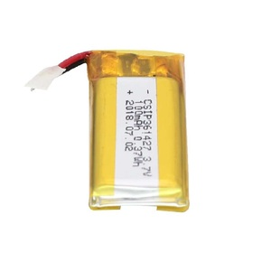OEM battery manufacturer 3.7v 100mah lithium ion batter raw material