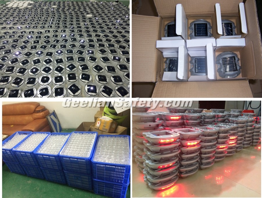 High reflective highway reflective aluminium road studs