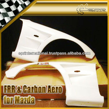 For Mazda FD3S RX7 BN Style Carbon Fiber Front Vented Fender +30mm Body Kits