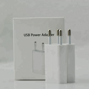 High Speed Wall Charger EU/US plug 5V 1A USB wall charger for iphone smartphones