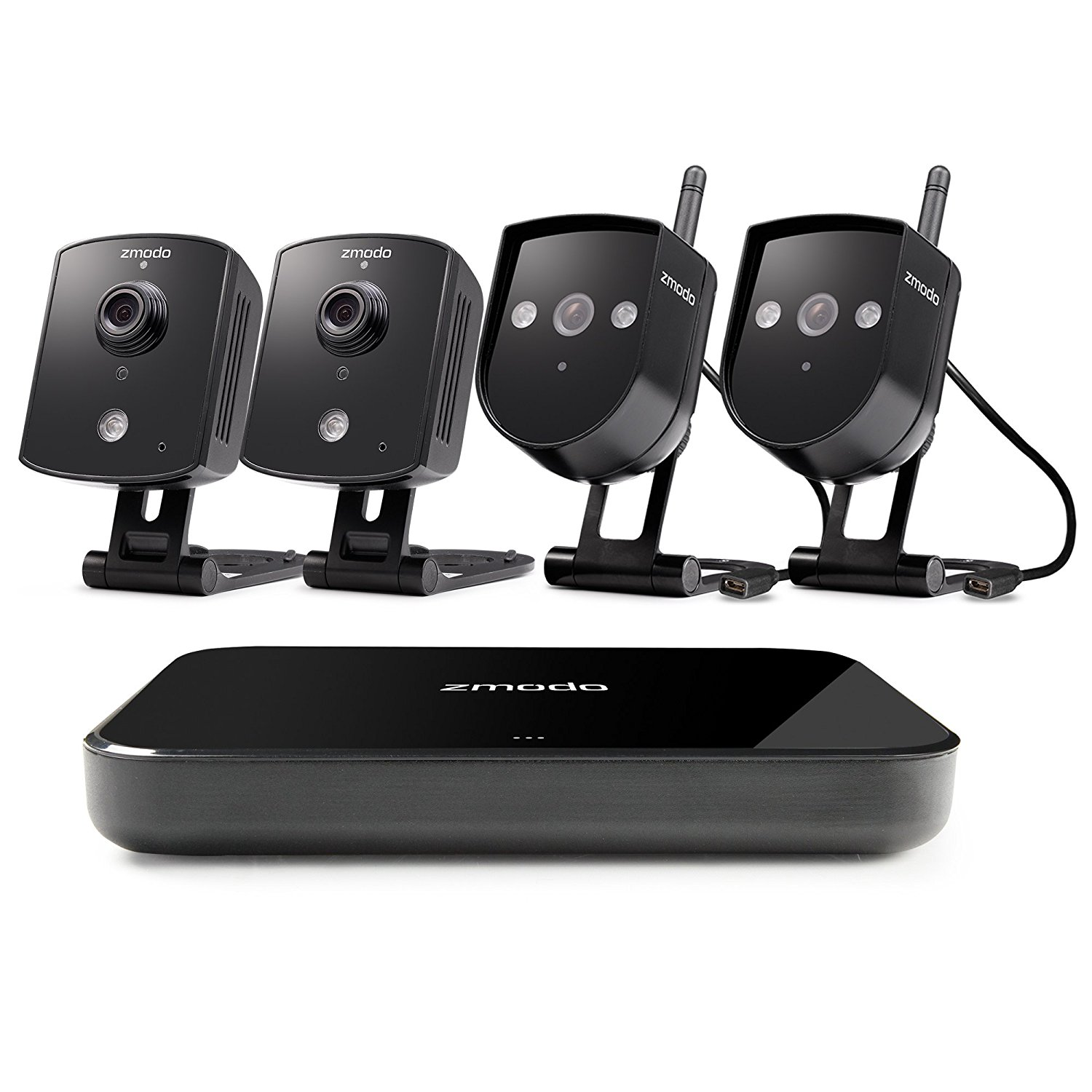 Buy Zmodo Replay 4CH 720P Wireless Home Surveillance