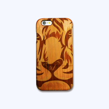 mobile phone accessories,real solid wooden phone case for Iphone plastic raw material
