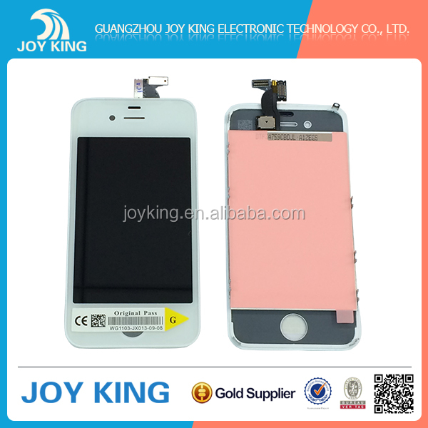 Original new useful oem wholesale cheap lcd touch screen for iphone 4