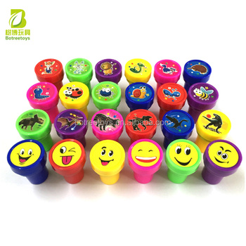 24 Models Stamps Mixed Self-inking Stamp Toys Promotion for Kids