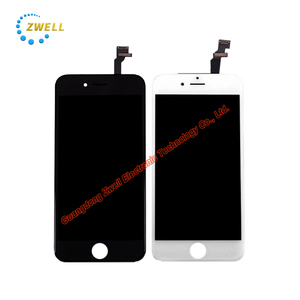 Iphone 6S Plus LCD Panel Sreen Part with 1920x1080p 5.5 inch multi-touch panel white and black color optional