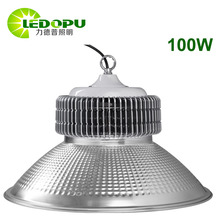 2017 DLC ETL Listed 5 Years Warranty Outdoor Parking Lot LED High Bay Light 100W