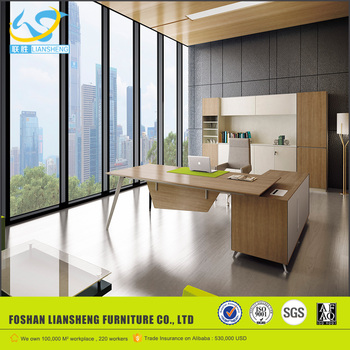 Fancy Design Director Table, Modern Computer Office Counter Table Office  Furniture Design