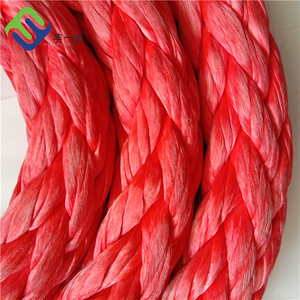 Hot sale 20mm 12 strand braided PE UHMWPE fishing line and fishing rope