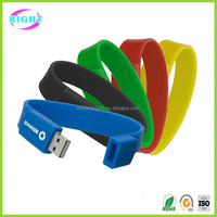 Custom usb drive silicone wristband