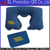 Inflatable U shape PVC Flocked Velvet Neck Pillow Of Travel Pillow