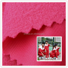 Cheap price brushed fabric super poly made by polyester