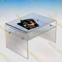 New product Acrylic furniture good design bosch test bench price tea table