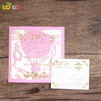 Hot Sale Wedding Party Favors Laser Cut Paper English Wedding Invitation Card For Valentine S Day Buy English Wedding Invitation Card Butterfly