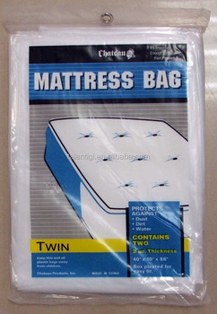 Twin Plastic Mattress Cover Bag Buy Shopping Plastic