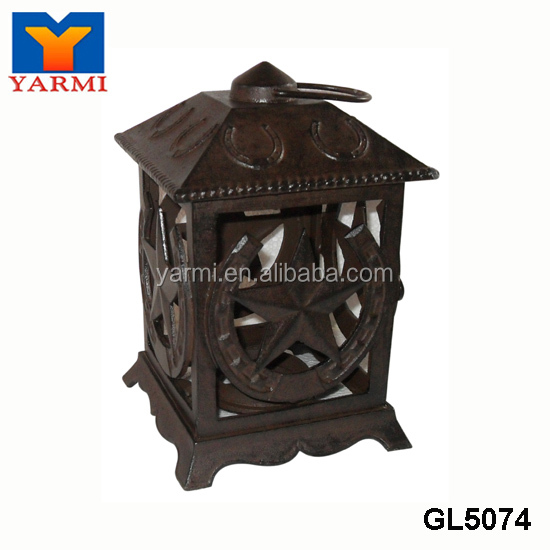 WHOLESALE OLD STAR METAL LANTERN