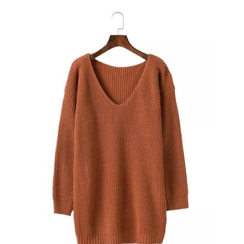 13ac570c40d Womens Turtleneck Long Sleeve Chunky Knit Pullover Sweater Long Sleeve  Loose Cozy Pullover