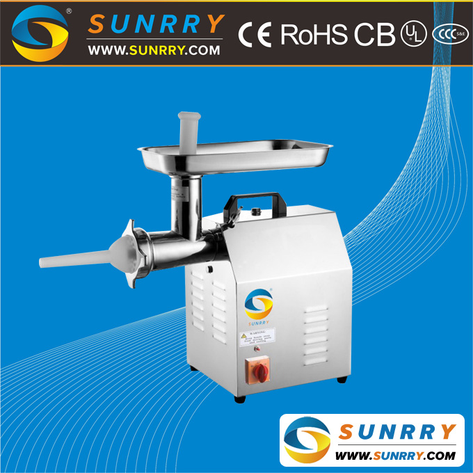 Meat grinder S/S body gears of meat grinder capacity 120kg/h stainless steel manual meat grinder for CE (SY-MM12 SUNRRY)