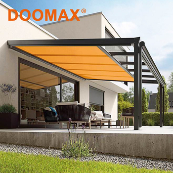 #dx710 Retractable Metal Roof Pergola Awning Systems - Buy ...