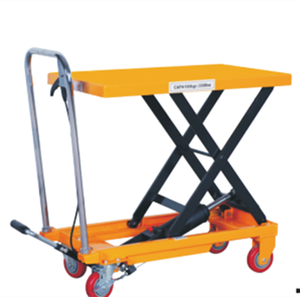 500kg/1000kg hydraulic scissor lift table dimension