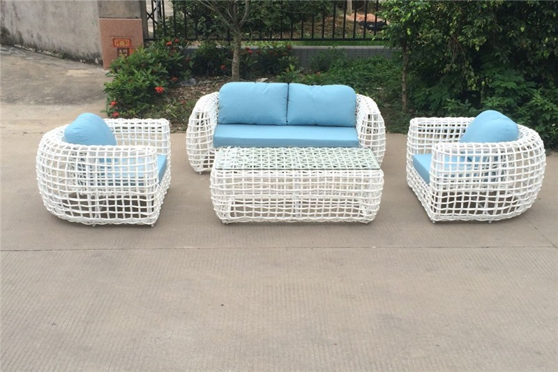 Discount outdoor furniture new design rattan sofa