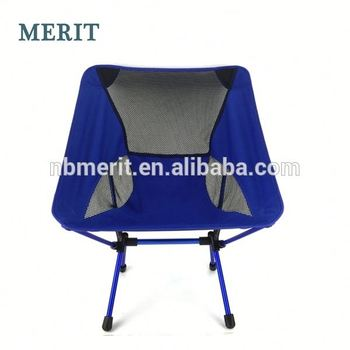 Folding Round Bungee Chair For Camping