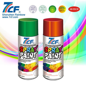 Top Quality Multi-colors Spray Paint Color Chart For Cars