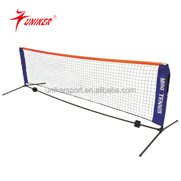hot sale MINI durable PE tennis nets