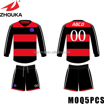 Online Soccer Gear Thai Quality Wholesale Soccer Jerseys Cheap Long Sleeve  Couple Tshirt - Buy Long Sleeve Couple Tshirt 0f22499841fd