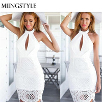 Sundress cheap wholesale ladies fashion sleeveless summer dresses new sexy women formal cocktail prom party lace dress