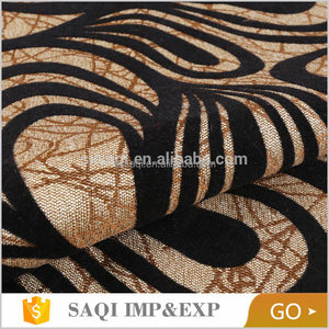 2018 new design custom home decor upholstery flock sofa fabric for outdoor furniture
