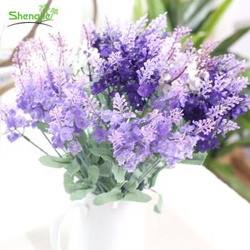 Romantic silk artificial lavender wedding decoration flowers bouquet romantic silk artificial lavender wedding decoration flowers bouquet mightylinksfo