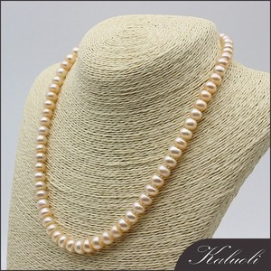 Half pearl beads cultured pearls necklace cheap wholesale