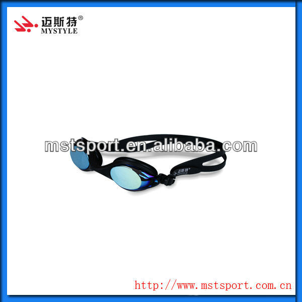 high quality anti fog&mirror coated swim goggles